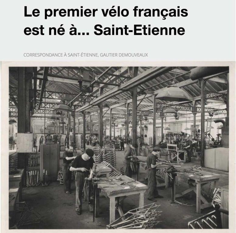 La cité forézienne s'est fait une réputation dans l'Hexagone, au cours du XIXe et XXe siècles, d'abord grâce à ses mines puis par son équipe de football. On s'en souvient moins, mais Saint-Étienne fut également la capitale du cycle.