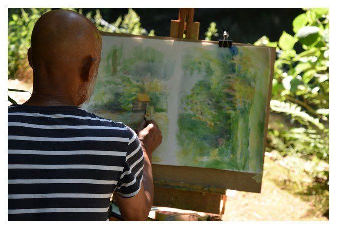 """Peindre au Vast avec """"Les Cascades"""" (2/2)"""