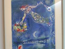 Nice, sun, flowers. Marc Chagall and the bay of angels