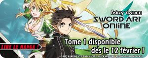 Une preview pour le tome  Sword Art Online – Fairy Dance !