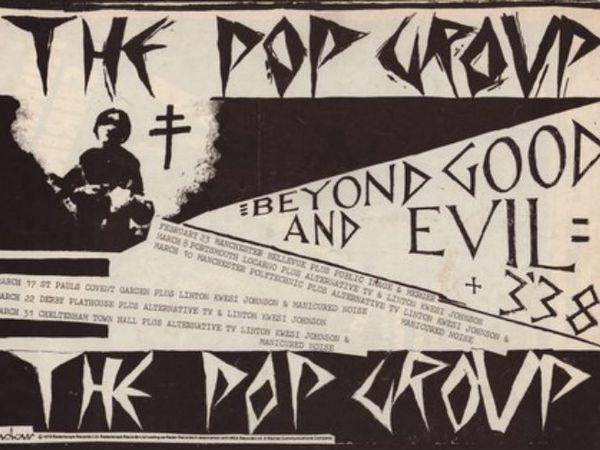 the pop group, un groupe de post-punk originaire de bristol en angleterre avec musique dissonante combinant des éléments de punk-rock, reggae, dub et free-jazz