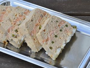 Terrine au saumon