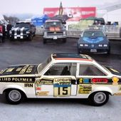 FORD ESCORT RALLYE SOLIDO GAM2 1/43 - car-collector