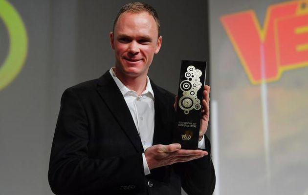 Chris Froome remporte le Vélo d'Or 2017, Romain Bardet Vélo d'Or France