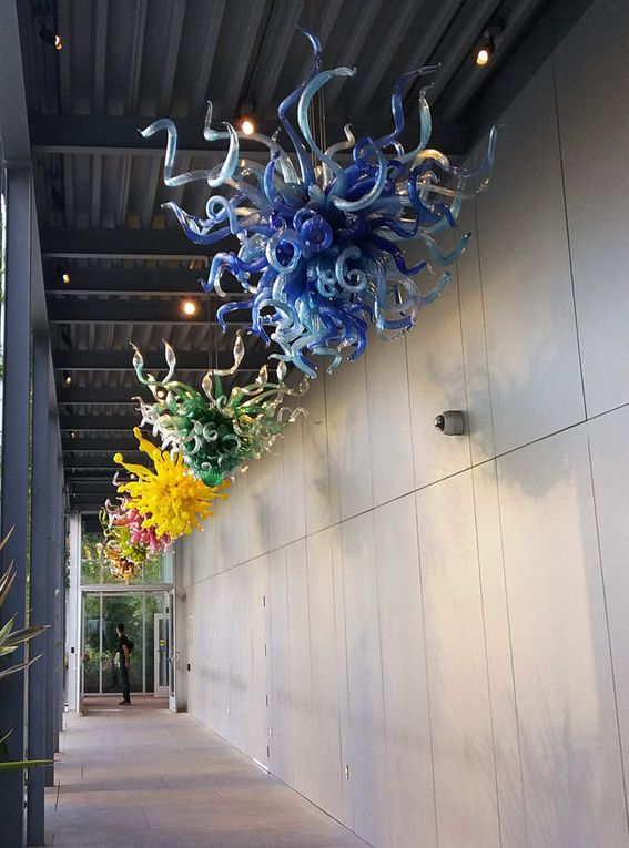 Diaporama : Chihuly Garden and Glass, Chandeliers