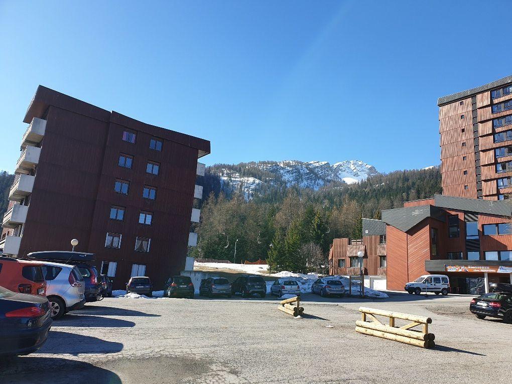 Karellis en raquettes à partir du front de neige jusqu'au Plateau de Vinouve,  randonnée ADAPAR