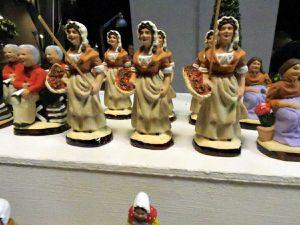 Bollène, salon des santonniers