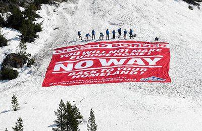 « DEFEND EUROPE » : APRÈS LA MÉDITERRANÉE, LES ALPES !