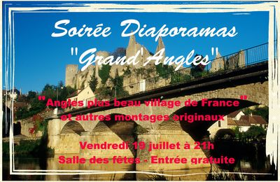 "19 JUILLET 2018 : DIAPORAMAS "" ANGLES PLUS BEAU VILLAGE DE FRANCE"""