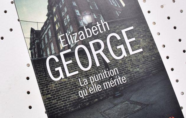 Le nouveau Elizabeth George : La punition qu'elle mérite ....