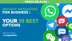 Respond.io is a business messaging platform that connects contacts