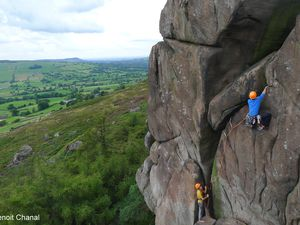 Le Peak District: Stanage, Millstone, Roaches...