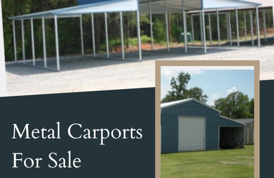 Metal Carports Direct- Benefits Of Factory Direct Metal Carports