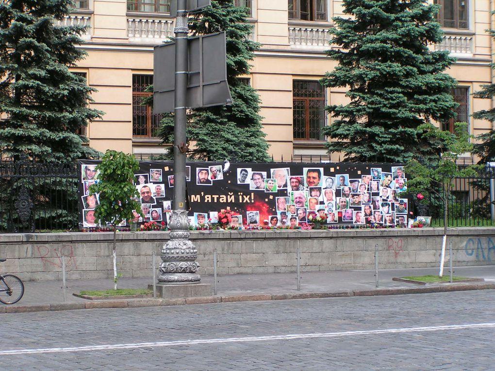 Kiev, si belle et si meurtrie!