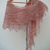 De la fibre au tricot : Rose Garden - Mam'zelle Flo
