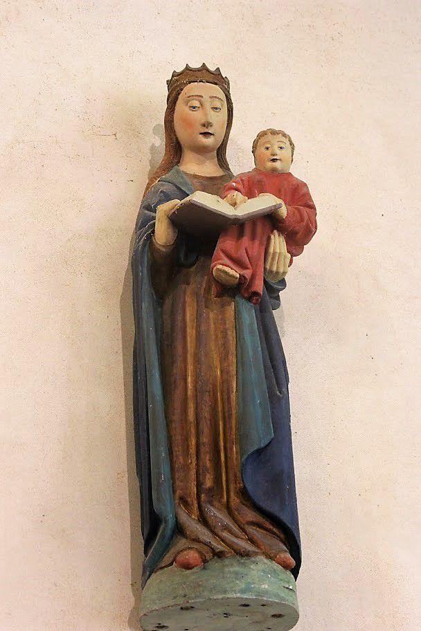 Notre-Dame de Trévarn. Photographie Brigitte Thibault 4 juillet 2021.