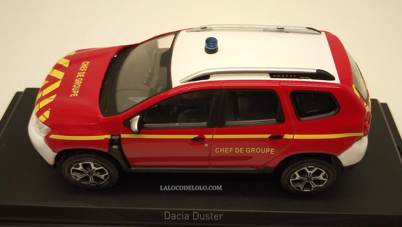 """Dacia Duster 2018 - """"Pompiers Chef de Groupe"""" - réf : 509012"""