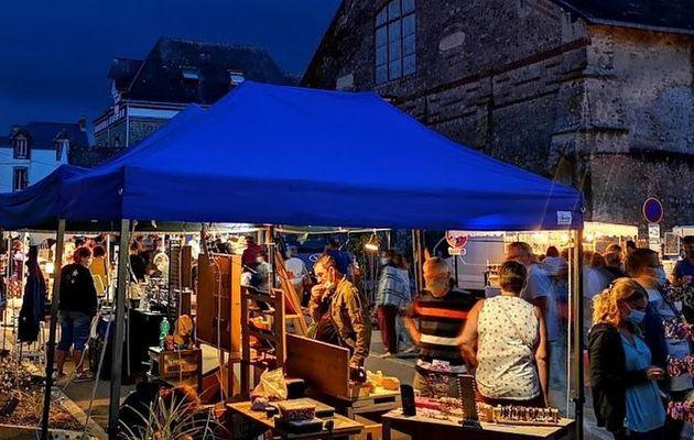 Batz sur Mer - Les marchés nocturnes se visitent tous les mardis du 13 juillet au 24 aout 2021