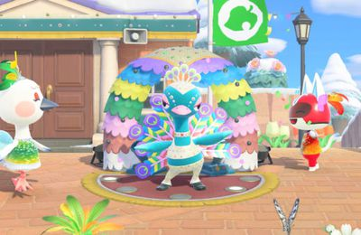 Animal Crossing: New Horizons – Participez au carnaval dès le 28 janvier