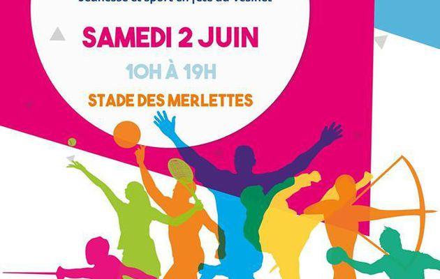 Journée de la Jeunesse et du sport au Vésinet samedi 2 juin 2018