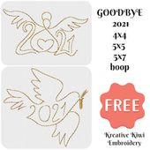 Free 2021 Embroidery Design