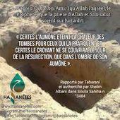 L'aumône éteint la chaleur de la tombe ... - Salafidunord