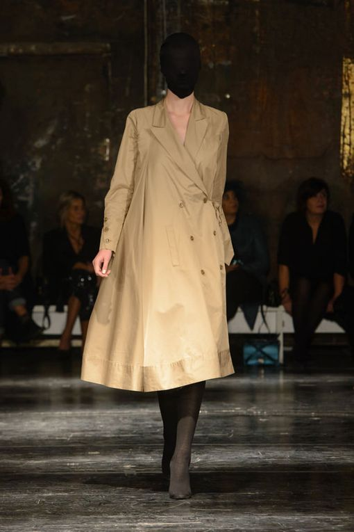 GUDU spring/summer 2018 womenswear collection by Lasha Mdinaradze.