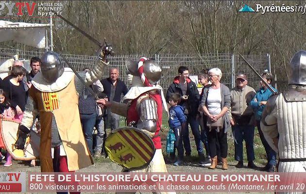 Fete de l'Histoire au Château de Montaner (1er avril 18) | HPyTv La Télé de Pau