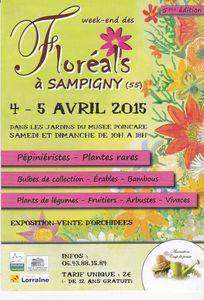 Dimanche de Pâques aux Floréals de Sampigny