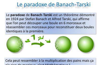 LE PARADOXE DE BANACH-TARSKI