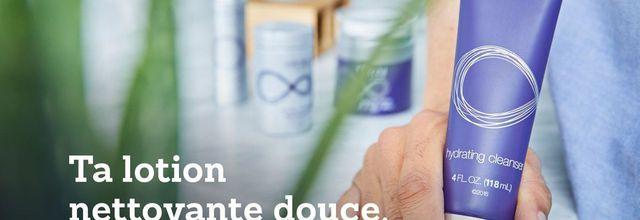 Nettoyez votre visage en douceur avec hydrating cleanser hydrating cleanser