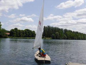 Le 1er bateau sur l'eau depuis le déconfinement