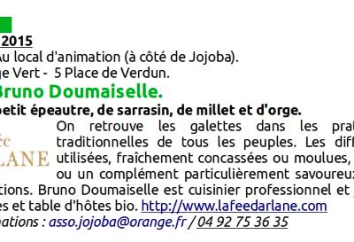 Ateliers de Bruno Doumaiselle.