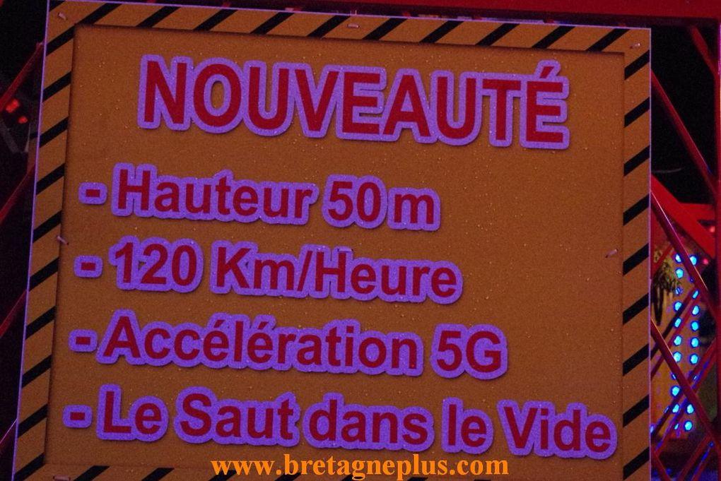 Depuis le 15 décembre, se déroule à Rennes, comme chaque fin d'année,  la  foire d' hiver.