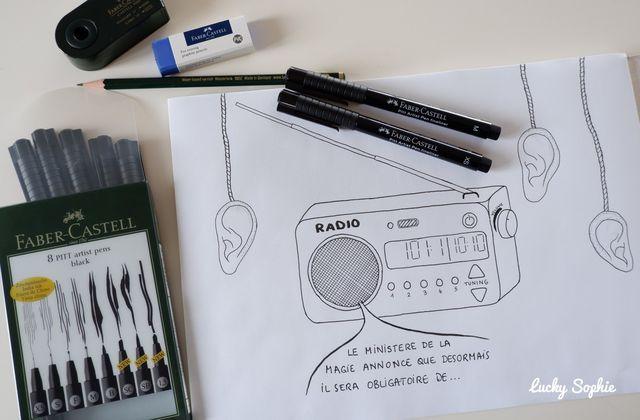 Inktober, le défi créatif à dessiner !