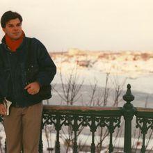 1989 avril Week-end ski à Québec