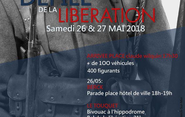 LE DÉFILE DE LA LIBÉRATION...C'EST LES 26 ET 27 MAI...DANS LE MONTREUILLOIS...