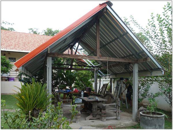 Rénovation toit du sala