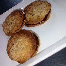 Chokladflarn comme à Ikéa (galettes de flocons d'avoine)