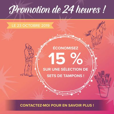 23 octobre 2019 : Promotion 24h
