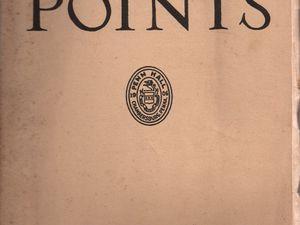 Penn Points n°1, Vol. XXXI, d'avril 1956.