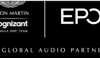Sponsoring : EPOS devient sponsor de l'écurie Aston Martin en F1
