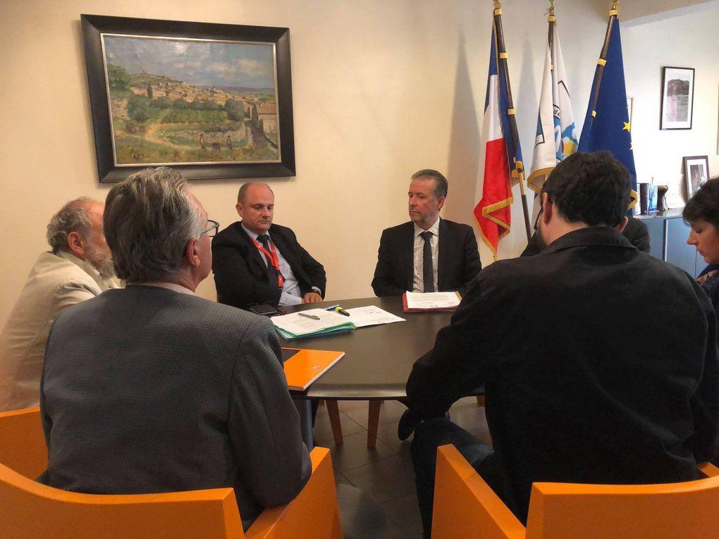 LAUDUN-L'ARDOISE Le sous-préfet : « la commune est dans une situation très difficile »