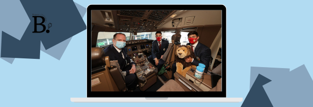 British and Irish Lions roar off to South Africa with British Airways