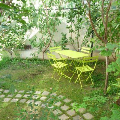 Loft avec jardin gourmand