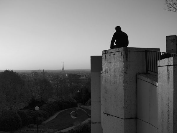 Dernière errance parisienne...Belleville le 4 décembre 2015...