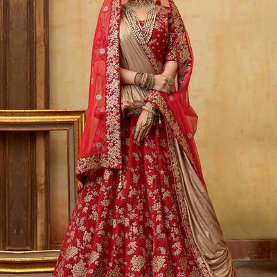 Conventional Or Modern? Dazzle Your Groom By Using The Right Lehenga Choli