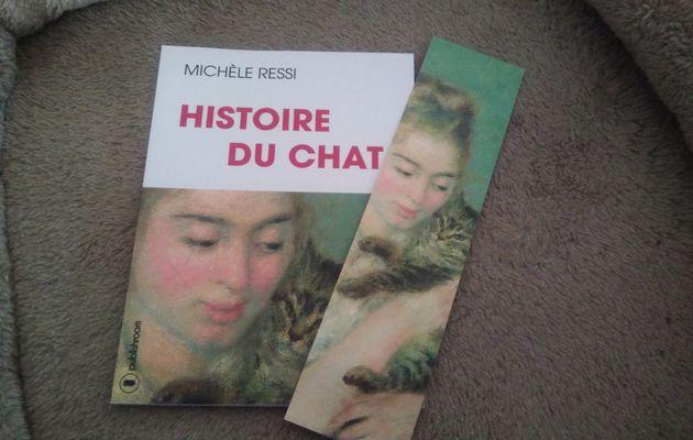 """J'ai lu """"Histoire du chat"""" de Michèle Ressi"""