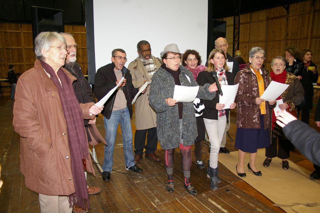 Samedi 26 novembre 2011, l'atelier culturel de Maurepas, à Rennes, organisait la 9ème édition de la Fête de la Soupe.
