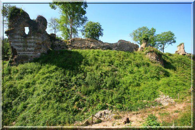 Diaporama château de Montfort sur Risle